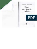 DocGo.net-Femei Care Alearga Cu Lupii - Clarissa Pinkola Estes.pdf