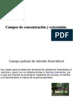 Tipos de Campos de Concentración David y Jose