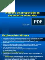 Tema06. Metodos de Propesccion en Yacimientos Minerales