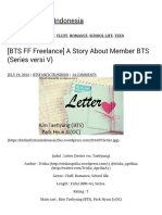 [BTS FF Freelance] a Story About Member BTS (Series Versi v) BTS Fanfiction Indonesia