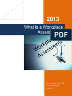 What is a Workplace Assessment