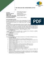 Plan Anual de Trabajo Del Ministerio Joven