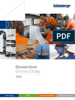 Geoservices Catalog