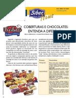 Coberturas e chocolate