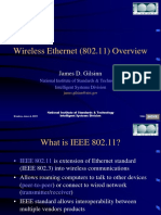 Wireless Ethernet (802.11) Overview