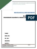 EGD Tutorial Book GTU - Marwadi university