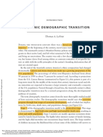 Race, Ethnicity, And Health a Public Health Reader ---- (Introduction the Ethnic Demographic Transition)