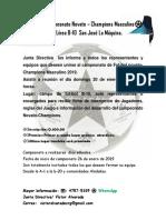 Campeonato Masculino 2019