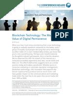 TCB block chain technology