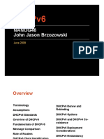 Introduction to DHCPv6 and DHCPv6 for DOCSIS