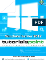 Windows Server 2012 Tutorial