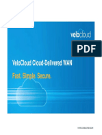 VeloCloud Cloud-Delivered WAN