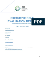 Executive Self Evaluation