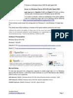 Openfire XXMPP Server on Windows Server 2012 R2