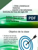 Clase Guía n° 27 - Las resolución de los problemas limítrofes en Chile