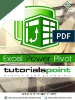 Excel Power Pivot Tutorial