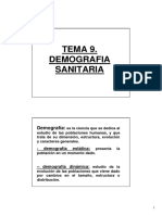TEORIA AMPLIACION DEMOGRAFIASANITARIA