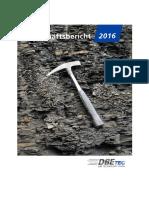 Geschäftsbericht DBETEC 2016