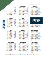 GSA Payroll Calendar 2018