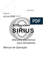 Dt1580904 - Sirius - Manual k40 - r1 - Pt