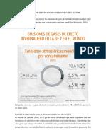Contaminación Atmosférica en Lima Metropolitana