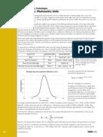 Radiometric vs Photometric Units