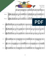 Candomblé - CDF - Score