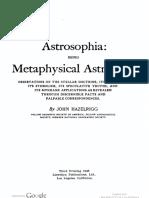 astrosophia-Hazelrigg 1948