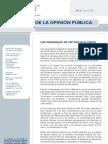 Aprobación presidencial Julio 2008 en Perú