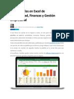150 Plantillas en Excel de Contabilidad