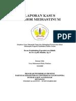 1. Cover Tumor Mediastinum