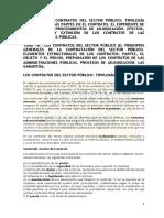 Tema 7. Los Contratos Del Sector Público. Promoción Interna 2017 Junta Castilla y León.