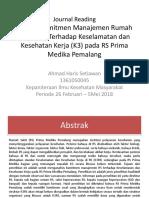 Journal Reading K3 Ahmad Haris 13-045