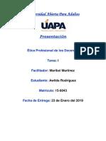 Etica Profesional 1