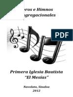 Coros e Himnos congregacionales IB El Mesías