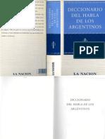Diccionario del Habla de los Argentinos