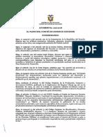 Acuerdo Comex 002-2018