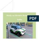 Study on Electric Mobility in India Final
