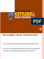 Kettle Bell Workout Training Dvd