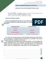 Resumo 1807695 Paulo Igor 36572355 Direito Penal Tj Sp Aula 04 Crimes Contra a Administracao Da Justica