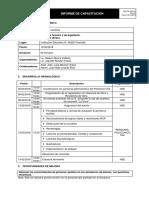 Informe de Capacitacion Primeros Auxilios