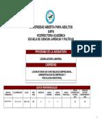 DER400-Legislación Laboral