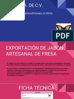 Proyecto de Exportación de Jabón Artesanal
