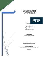 MOVIMIENTOS LITERARIOS - Mediaciones Tecnologicas (1)