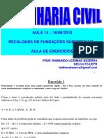 Aula 14-18-09-2018_Recalques - Aula de Exerc