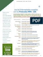 Lista de Enfermedades - CDS Peru - MMS - CDS - DMSO