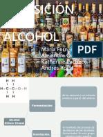Exposición del Alcohol
