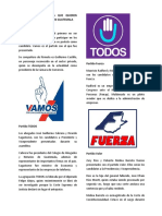 Nombre de Candidatos Que Quieren Entrar Como Presidente en Guatemala