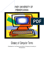 Glossary Computer Terms