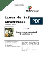 Modelo Lista InfraEstruturas - SkillsPortugal-Mecatrónica Auto-1